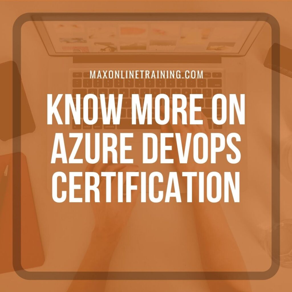 azure devops online training certification max online training